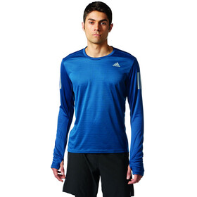 adidas Response Running Shirt longsleeve Men blue